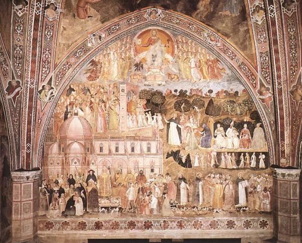 The Church Militant And Triumphant 1365